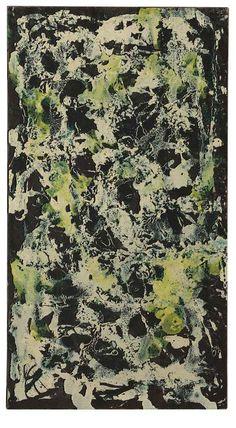 Jackson Pollock (1912-1956)  Vertical Composition I
