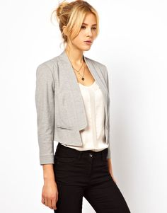(gray) blazer nice outfit for office
