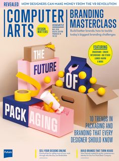 #Computer #Arts Magazine, #April 2016. The future of the #packaging.
