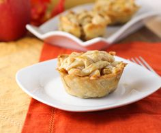 Mini Apple Pie Recipe on Citronlimette at http://citronlimette.com/recipe_archive/desserts/mini-apple-pies-recipe/