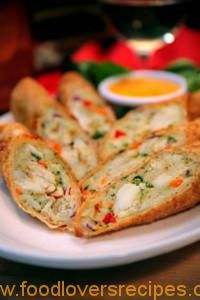Crispy Shrimp and Scallop Rolls - (Free Recipe below) Seafood Appetizers Seafood Appetizers Appetizers Appetizers for a crowd Appetizers parties Seafood Dishes, Seafood Recipes, Appetizer Recipes, Mexican Food Recipes, Cooking Recipes, Seafood Appetizers, Gourmet Food Recipes, Elegant Appetizers, Fall Appetizers