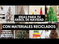 31 ideas para tu árbol de navidad con materiales reciclados / EcoInventos.com