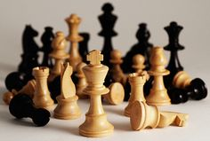 Life really is chess, isn't it?