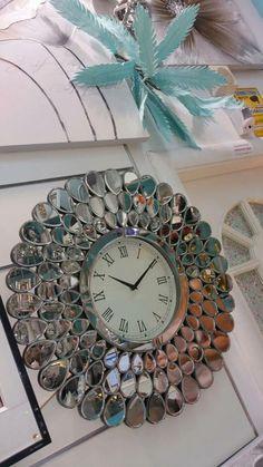 relojes de pared en cristal