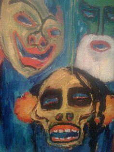 Stilleven met maskers, 1911