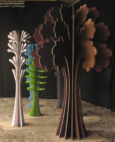 Interior-Outside by Ferry Staverman http://home.wanadoo.nl/fstaverman/ #paper_art #paper_crafting