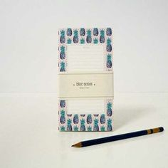 Bloc-notes Les ananas – Season Paper