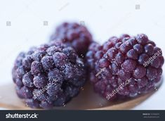 Close-up on a group of blackberries in a spoon on a table Blackberries, A Table, Close Up, Spoon, Raspberry, Photo Editing, Stock Photos, Group, Drink