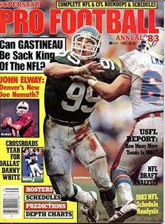 Superstar Pro Football Annual 1983- Mark Gastineau Cover