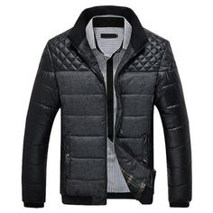 Want' to like a product without buying it, check this one out Jacket For Men Ne... only available on Costbuys http://www.costbuys.com/products/jacket-for-men-new-arrival-parka-men-casual-stand-collar-cotton-slim-patchwork-jaqueta-masculino?utm_campaign=social_autopilot&utm_source=pin&utm_medium=pin