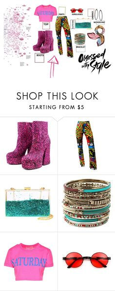 """obsessed with style"" by krnas on Polyvore featuring John Galliano, Amrita Singh, Alberta Ferretti and Tory Burch"