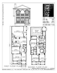 Urban House Plan C7245