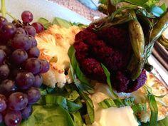 glutenfreehappytummy: Cauliflower Steaks w/ Roasted Beet Cream! GF, V, S...