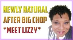 Natural Hair Journey With Lizzy - 7 Months After Big Chop! https://www.youtube.com/watch?v=9u6UHfv-O7s