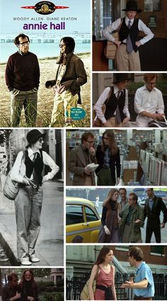 Diane keaton's style on annie hall  Very nerdy and manly