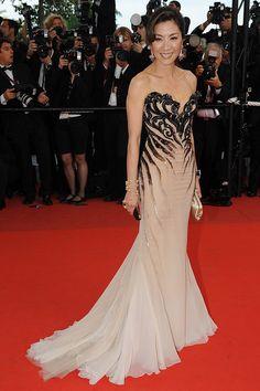 """Michelle Yeoh in Roberto Cavalli — 2009 Cannes Film Festival - """"Vengeance"""" Premiere"""