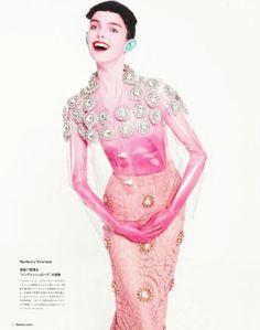 Valerija Kelava, Dasha Gold, Lisa Verberght & Laura O'Grady by Sofia Sanchez & Mauro Mongiello for Numéro Tokyo March 2014