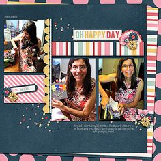 Oh Happy Day; Take Note by Tickled Pink Studio; Template: KH Designs; Font: KG Somebody That I Used to Know; July, 2014