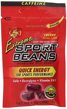 Jelly Belly Cherry Sport Jelly Beans, 1-Ounce (Pack of 24...