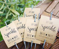 10 x Sparkler covers /wedding favours/ sparkler cover card tags/Shabby Chic 3014