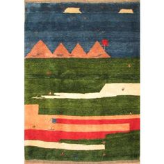 Carpet - Gabbeh carpet [40593]