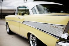 1957 Chevy ..Re-pin brought to you by agents of #carinsurance at #houseofinsurance in Eugene, Oregon