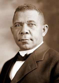 "Booker T. Washington. ""I shall allow no man to belittle my soul by making me hate him.""(April 5, 1856 – November 14, 1915) Washington was an educator, author, and advisor to Republican presidents."