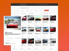 Rent A Car Agency Booking Web Design by Aleksandar Nikcevic
