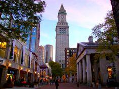 Faneuil Hall, Boston - Jennifer Gosnell