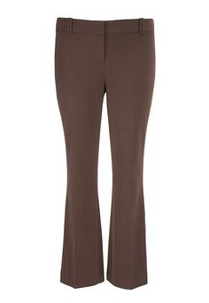 the polished plus size trouser with slimming technology in brown (original price, $49) available at #Maurices