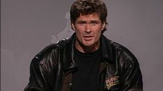 Weekend Update: David Hasselhoff on his World Tour 11/19/1994