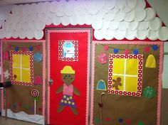 Gingerbread House Classroom Door | Classroom door