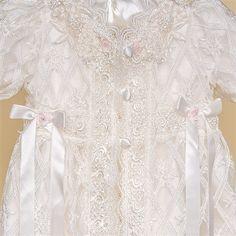 Charlotte Christening Gown & Bonnet