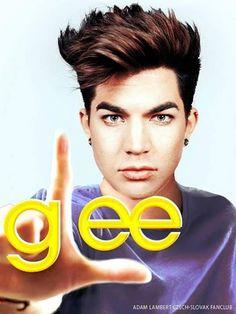 Adam Lambert - the only Glee episode I will be watching