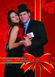 Christmas event green screen photography. #eventphotography #greenscreen