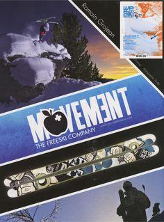 WeSki - French Magazine - Romain Grojean_Movement Ad - Ski Team - March12