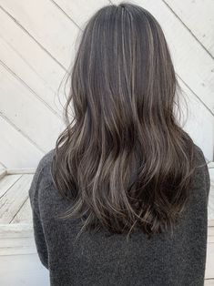 Hair Color And Cut, Cool Hair Color, Hair Colour, White Hair Highlights, Grey Hair, Hair Health, Cute Hairstyles, Hair Goals, Hair Makeup