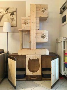 Bildergebnis für cardboard cat tree