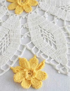 "Watch Maggie review these beautiful Vintage Floral Doilies! Edited By: Maggie Weldon Skill Level: Intermediate Sizes: Shell Rose - About 14"" diameter. Tea Rose Ring - About 12"" diameter. Daffodil - Ab"