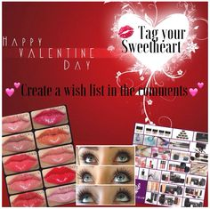 Valentines Gifts Collections - Younique  https://www.youniqueproducts.com/KristaKirk/products/collections