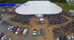 BIG TENT REVIVAL SEEING SALVATION RISE RAPIDLY - The revival started as a week-long event back on Mother's Day.