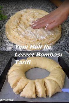 Turkish Recipes, Pavlova, Bagel, Doughnut, Sausage, Muffin, Meat, Baking, Breakfast