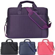 12 14 15 17 Inch big size Waterproof Nylon Computer Laptop Solid Notebook Tablet Bag Bags Case Messenger Shoulder for Men Women(China (Mainland))