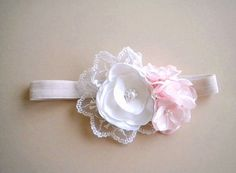 Couture Boutique Style Handmade Rose blossom Headband  by priya123, $28.00