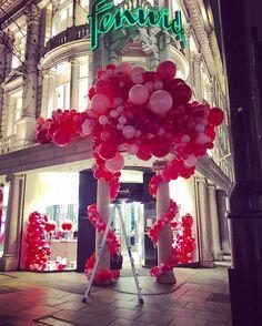 Bubblegum Balloons, Visual Merchandising Displays, Bond Street, Valentines Day, Instagram Posts, Party, Inspiration, Valentine's Day Diy, Biblical Inspiration