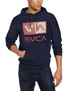 RVCA Men's Balance Box, Navy, Medium. Sale Price: $49.45  #hoodies http://hoodies.awesomegiftsforladies.com/