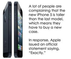 iPhone 5? No thank you. =)
