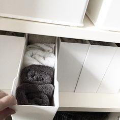 タオルの収納に活用