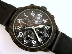 "Currently at the auctions: Zeno-Watch Basel - Clou de Paris Chronograph Automatic - 11557 - ""NO RESERVE. Steel Material, Basel, Cool Watches, Chronograph, Auction, Men, Cool Clocks, Guys"