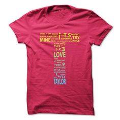 Taylor T-Shirt #Tshirt #style